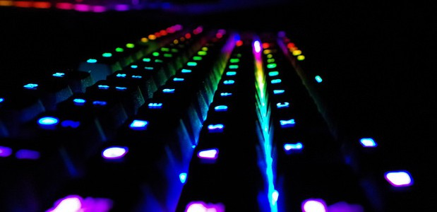 LED RGB colores